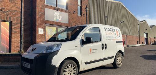 Stocky Sweeps Van