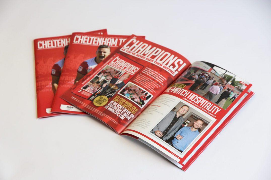 Cheltenham FC Programme